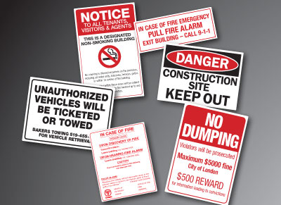 Warning Signs & Decals