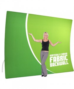 Tension Fabric Backwall